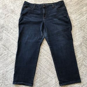 INC // Regular Fit Low Rise Straight Leg Size 24W